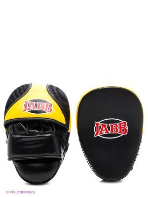Лапа боксерская (пара) JE-2194 Jabb. Цвет: желтый, черный