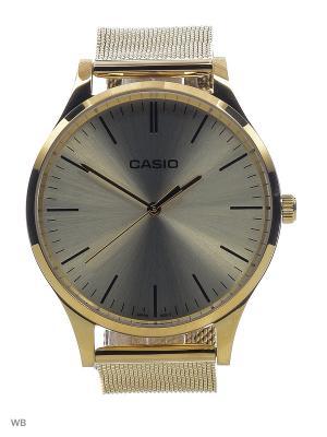 Часы LTP-E140G-9A CASIO. Цвет: золотистый