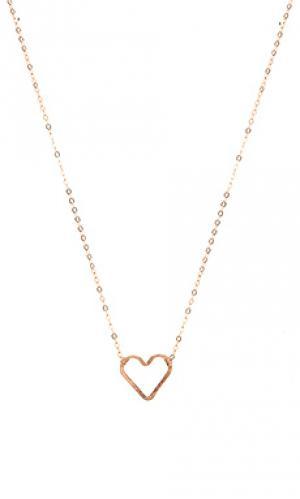Ожерелье luella Mimi & Lu. Цвет: металлический медный