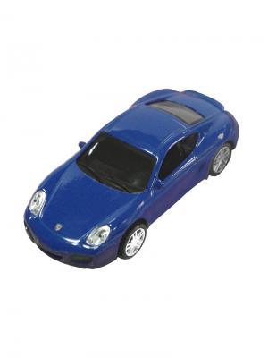 Машинка Porsche Cayman S, Синяя (1:43) (PS-0616405-B) Pit Stop. Цвет: синий