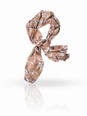 Платок MICHEL KATANA`. Цвет: серо-коричневый