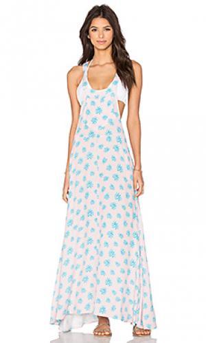 Платье bonita Tori Praver Swimwear. Цвет: розовый