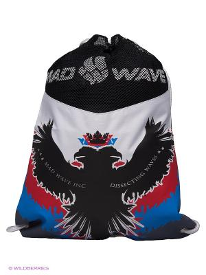 Мешок RUS DRY GYM BAG Mad Wave. Цвет: черный, белый, красный, синий