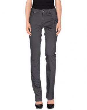 Повседневные брюки MARANI JEANS. Цвет: свинцово-серый