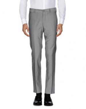Повседневные брюки TIGER OF SWEDEN. Цвет: серый