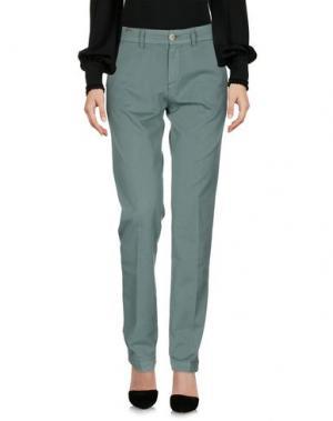 Повседневные брюки NOTIFY. Цвет: зеленый