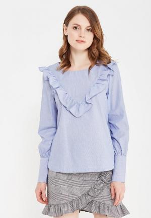 Блуза Vero Moda. Цвет: голубой