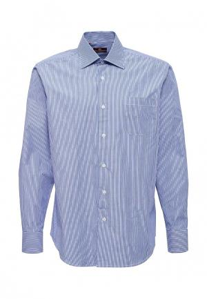 Рубашка Karflorens. Цвет: синий