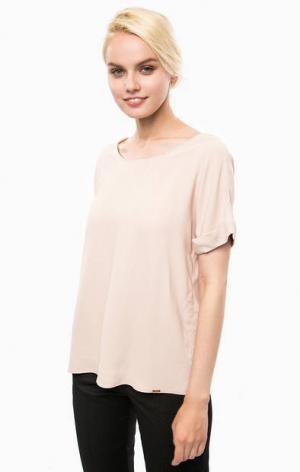 Блуза с короткими рукавами Cinque. Цвет: розовый