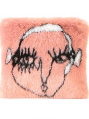Клатч Chantal Shrimps. Цвет: розовый и фиолетовый