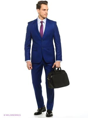Мужской костюм Barkland. Цвет: темно-синий