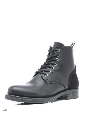 Ботинки Jack&Jones. Цвет: серый