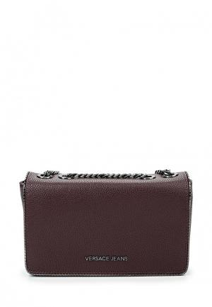 Сумка Versace Jeans. Цвет: бордовый