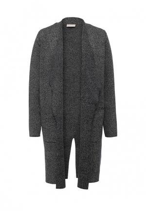 Пальто Vero Moda. Цвет: серый