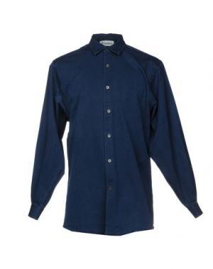Джинсовая рубашка ÉTUDES STUDIO. Цвет: синий