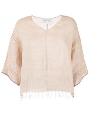 Frayed T-shirt Forte. Цвет: телесный