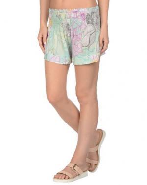 Пляжные брюки и шорты MISS BIKINI. Цвет: светло-зеленый