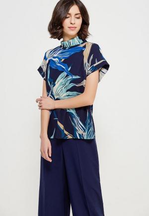 Блуза Echo. Цвет: синий