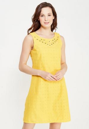 Платье Indiano Natural. Цвет: желтый
