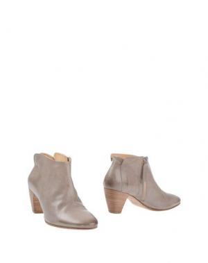 Полусапоги и высокие ботинки GAIA D'ESTE. Цвет: серый