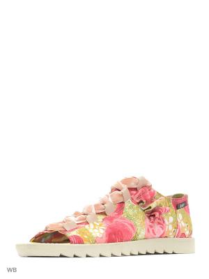 Сандалии AZ-ART. Цвет: розовый, бежевый