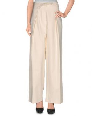 Повседневные брюки SOALLURE. Цвет: слоновая кость