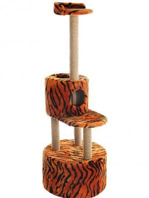 Домик-когтеточка Doggy Style. Цвет: оранжевый