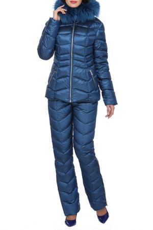 Комплект: пуховая куртка и штаны Conso. Цвет: чернильно-синий