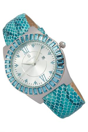 QUARTZ WATCH Reichenbach. Цвет: silver and turquoise