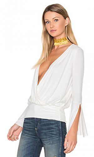 Блузка bella Ella Moss. Цвет: ivory