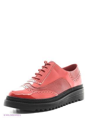 Туфли Spur. Цвет: красный