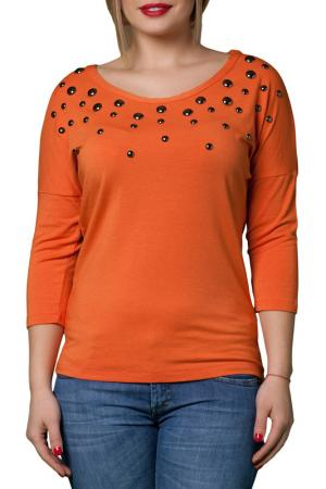 Блузка JOELLE JO'ELLE. Цвет: оранжевый