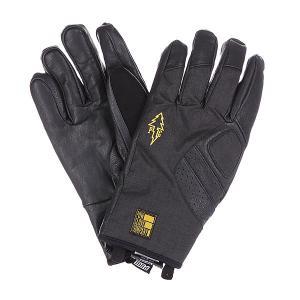Перчатки сноубордические  Vandal Glove Black Pow. Цвет: черный