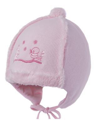 Шапка ILTOM. Цвет: розовый