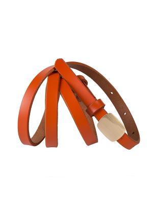 Ремень Модные истории. Цвет: оранжевый