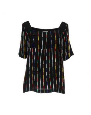 Блузка SUNO. Цвет: черный