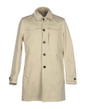Легкое пальто MARIO MATTEO. Цвет: бежевый