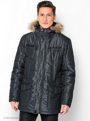 Куртка BAZIONI. Цвет: темно-серый