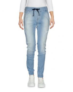 Повседневные брюки REIGN. Цвет: синий