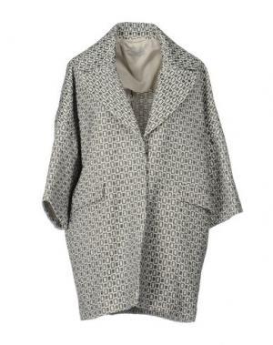 Легкое пальто CIRCOLO 1901. Цвет: слоновая кость