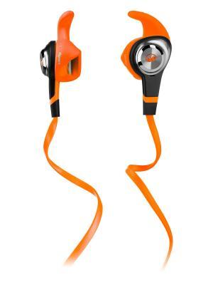 Наушники с микрофоном Monster iSport Strive In-Ear, Orange. Цвет: оранжевый