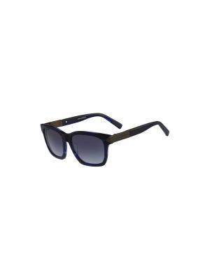 Солнцезащитные очки KL 863S 041 Karl Lagerfeld. Цвет: синий