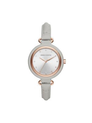 Часы Armani Exchange. Цвет: золотистый, розовый, серый