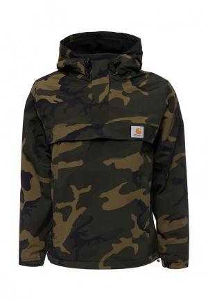 Куртка утепленная Carhartt. Цвет: хаки