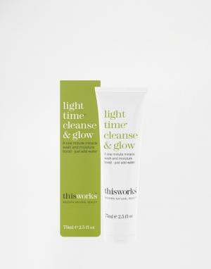This works Средство для умывания Light Time Cleanse & Glow 75 мл. Цвет: бесцветный