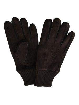 Перчатки Malgrado. Цвет: коричневый