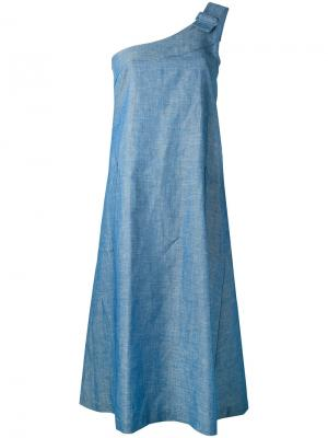 Платье Asy Work Société Anonyme. Цвет: синий