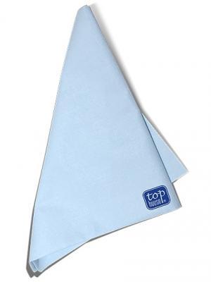 Top house салфетка для ухода за жк экранами, 36*38 см.. Цвет: синий