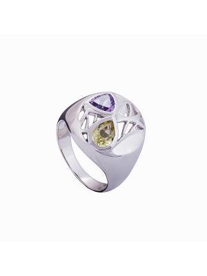 Кольцо Мастер Клио. Цвет: серебристый, золотистый, фиолетовый