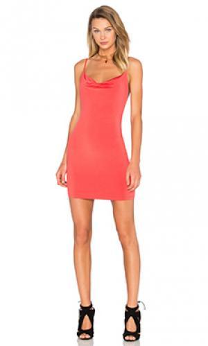 Платье downtime NBD. Цвет: оранжевый